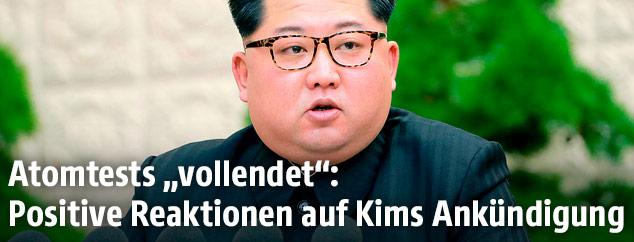 Nordkoreanischer Machthaber Kim Jong Un
