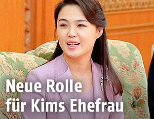 Ri Sol Ju, Ehefrau von Kim Jong Un