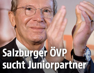 ÖVP Spitzenkandidat Wilfried Haslauer