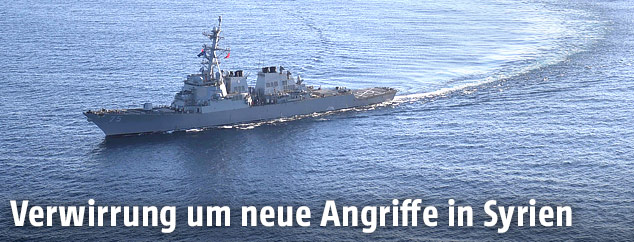 USS Donald Cook auf hoher See