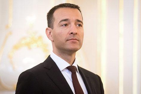 Der slowakische Innenminister Tomas Drucker