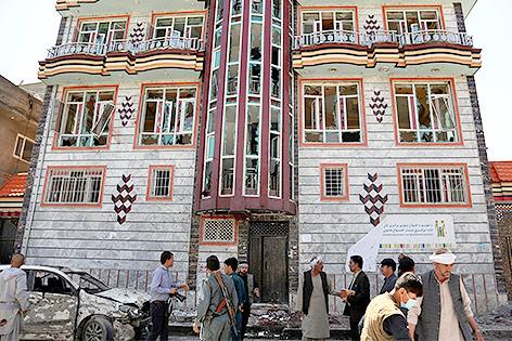 Zentrum für Wählerregistrierung in Kabul