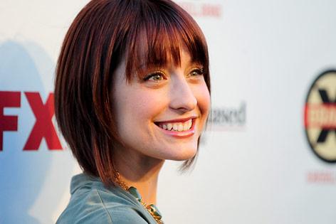 Die US-Schauspielerin Allison Mack