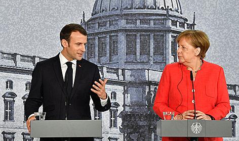 Merkel und Macron: Die Mühen der Ebene