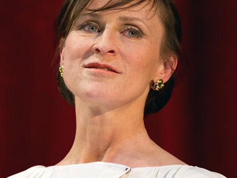 Die deutsche Schauspielerin Sophie Rois