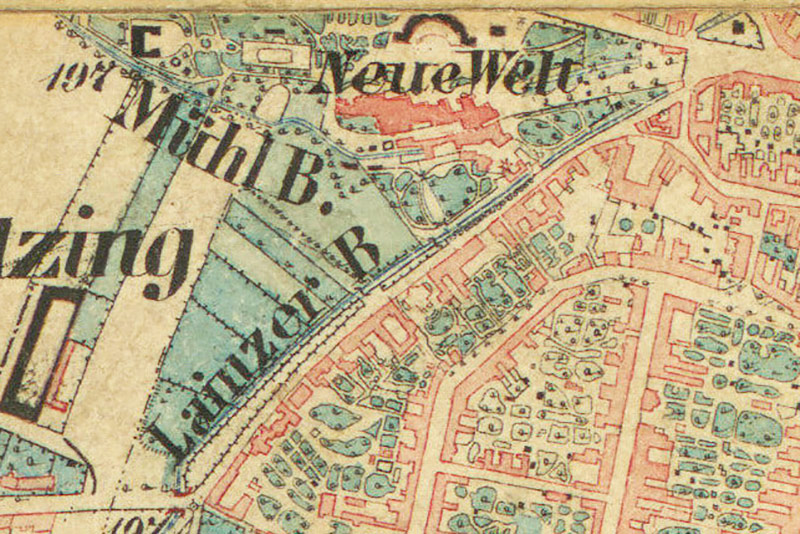 Historischer Stadtplan