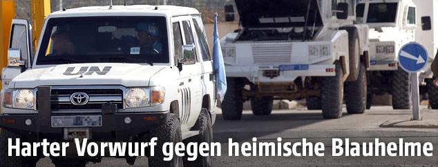 Fahrzeuge öasterreichischer Blauhelme