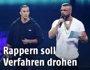 "Farid Bang und ""Kollegah"" alias Felix Blume"