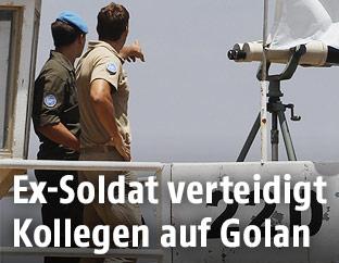 UN-Soldaten am Golan