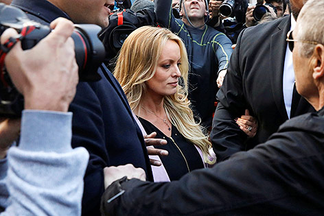 Trump-Anwalt will sich im Fall Stormy Daniels nicht belasten