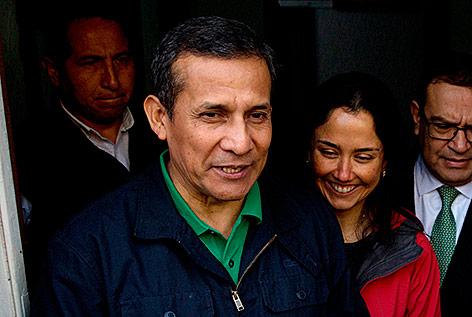 Perus Ex-Präsident Ollanta Humala und seine Frau Nadine Heredia