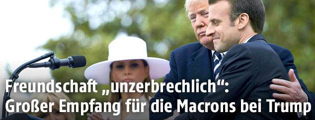 Eindrucke des Staatsbesuchs von Emmanuel Macron in den USA