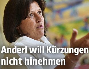 AK-Präsidentin und ÖGB-Vizechefin Renate Anderl