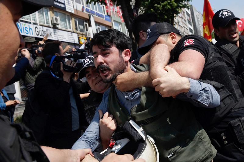 Verhaftung in Istanbul