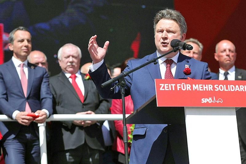 Rede des Wiener SPÖ-Vorsitzenden Michael Ludwig