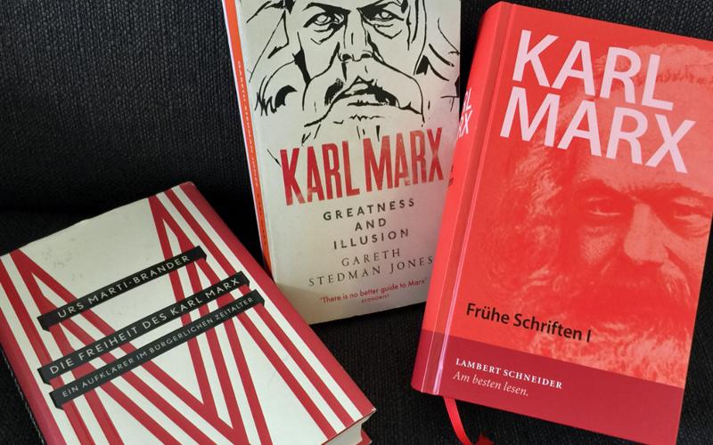 Bücher zum Marx-Jubiläum