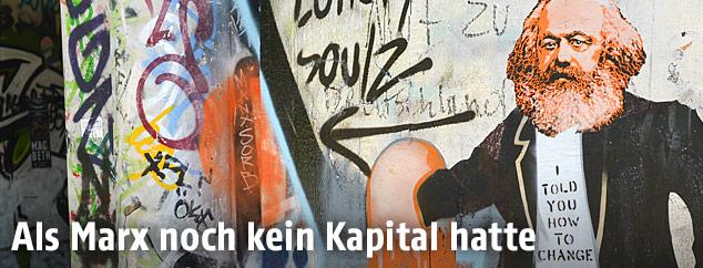 Graffiti von Karl Marx