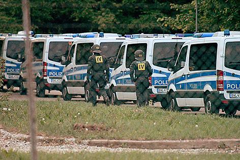 Polizeirazzia bei Flüchtlingen nach blockierter Abschiebung