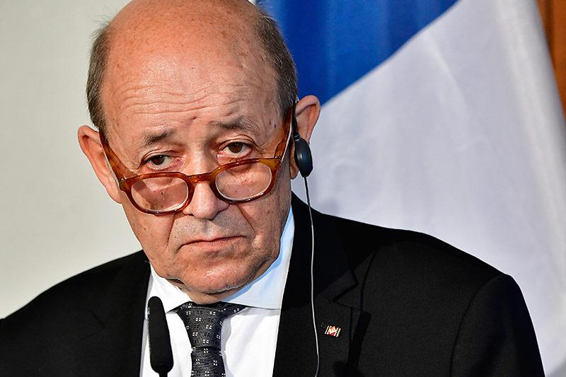 Frankreichs Außenminister Jean-Yves Le Drian