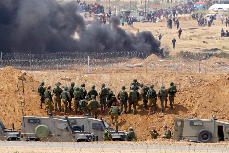 Konflikt an der Gaza-Grenze