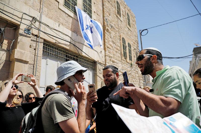 """Auseinandersetzung mit jüdischen Siedlern bei einer Tour von """"Breaking the Silence"""""""