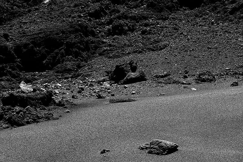 Oberfläche eines Kometen