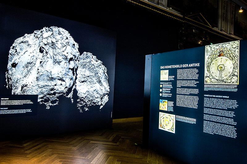 Austellung über Rosetta