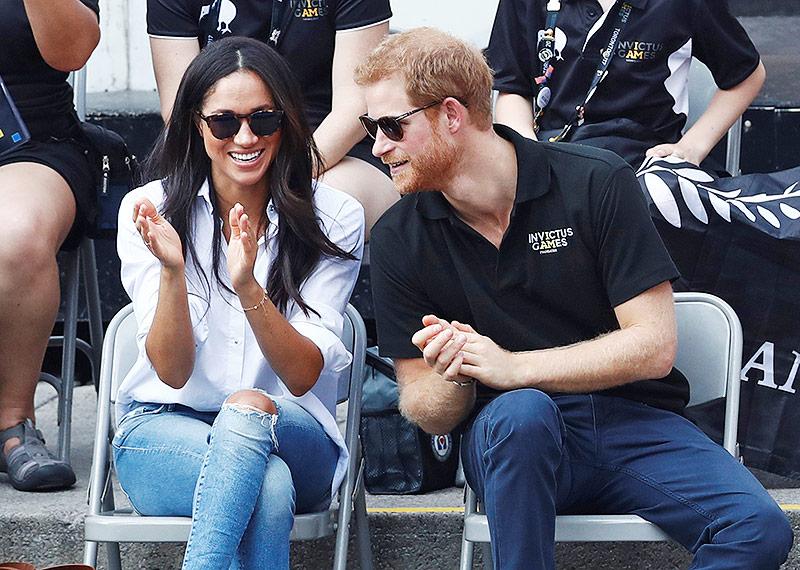 Meghan Markle und Prince Harry als Zuschauer bei den Invictus Games