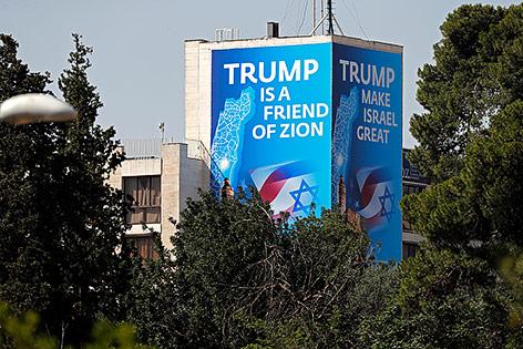 Künftige US-Botschaft in Jerusalem
