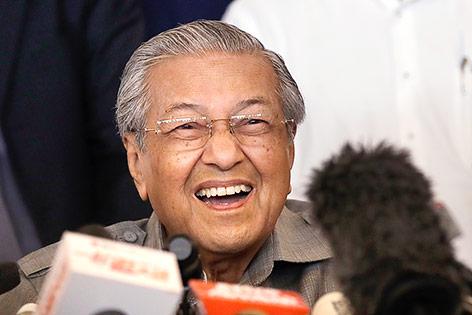 Machtwechsel in Malaysia: 92-jähriger gewann Wahl
