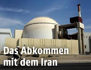 Atomanlange Bushehr im Iran