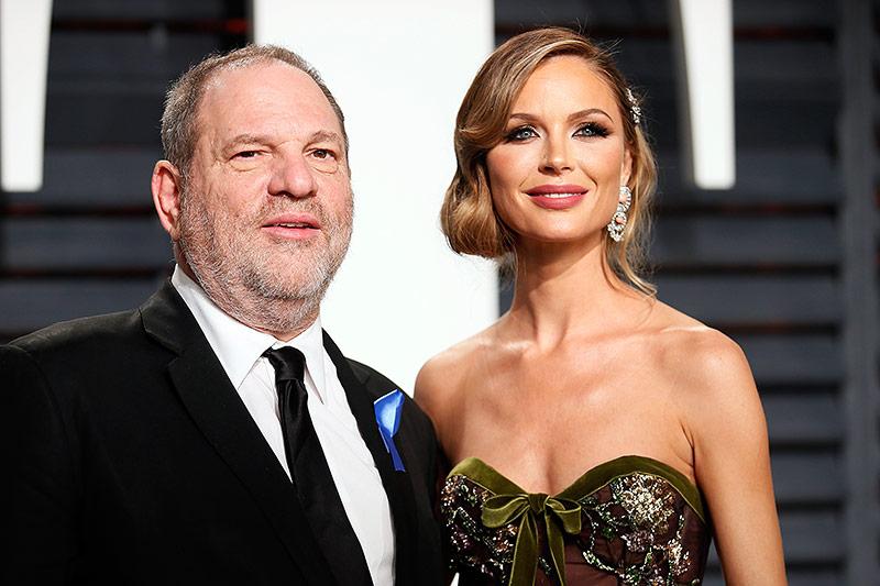 Designerin Georgina Chapman und Filmproduzent Harvey Weinstein