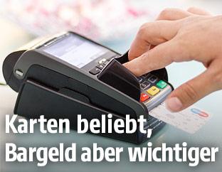 Bankomatkassenzahlung