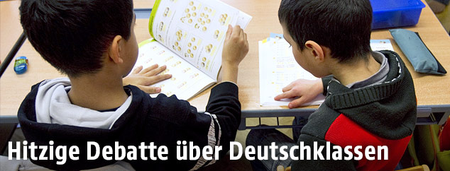Schulkinder in der Klasse