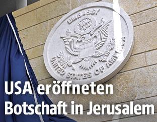 Die eröffnete US-Botschaft in Jerusalem