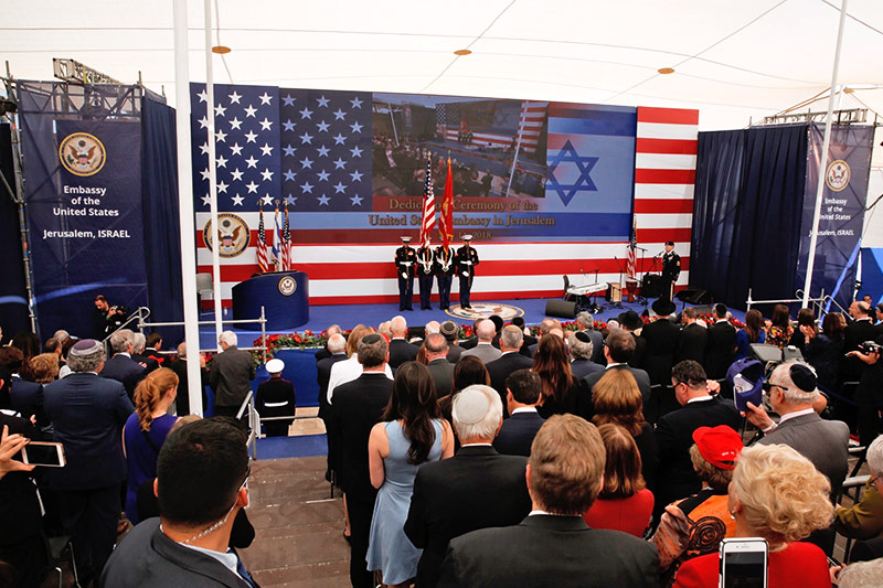 Eröffnung der US-Botschaft in Jerusalem