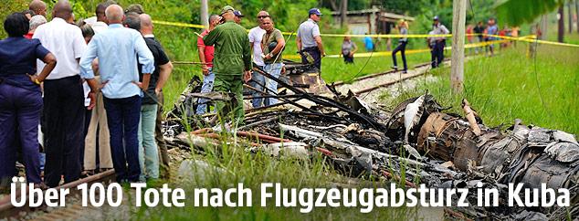 Ber 100 tote nach flugzeugabsturz in kuba news for Mit 100 dingen leben