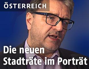 Neuer Wiener Gesundheits- und Sozialstadtrat Peter Hacker
