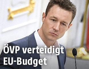 Kanzleramtsminister Gernot Blümel (ÖVP)