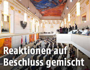 Nationalrat in der Hofburg