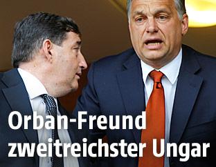 Viktor Orban und sein Jugendfreund Lörinc Meszaros