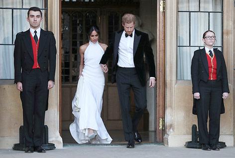 Meghan Markle und Prince Harry verlassen Schloss Windsor