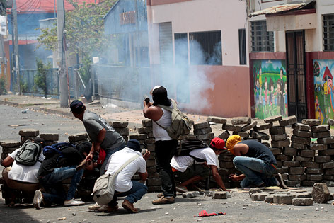 Ausschreitungen in Nicaragua