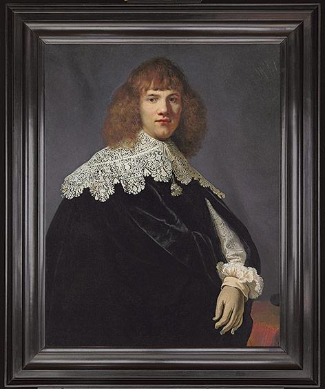 """""""Porträt eines jungen Mannes"""" von Rembrandt"""