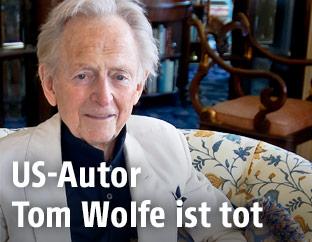 US-Bestseller-Autor Tom Wolfe