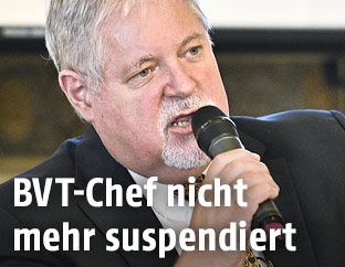 BVT-Chef Peter Gridling