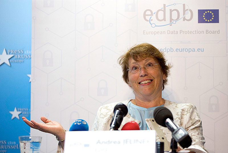 Andrea Jelinek, Leiterin der EU-Datenschutzbehörde