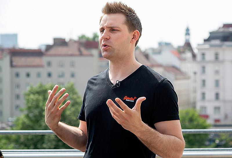 Autor und Datenschutzaktivist Max Schrems