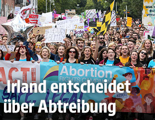 Pro-Abtreibungs-Demonstranten