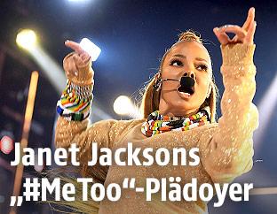 US-Sängerin Janet Jackson
